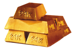Gold Bars | Sheryl Roush