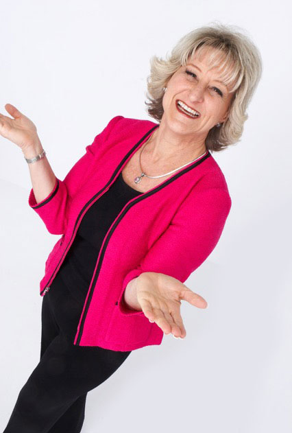 Sheryl Roush coaches in the business & skill of public speaking
