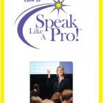 How to Speak Like A Pro workbook