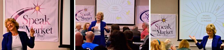 Sheryl Roush, Speak & Market Like a Pro™