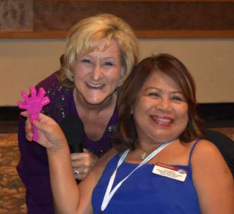 Public Speaking Coach, Sheryl Roush, enjoys sharing public speaking tips