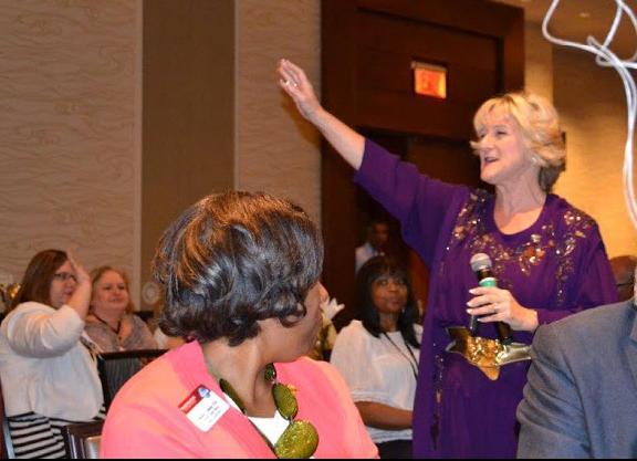 Sheryl Roush is a female professional speaker in San Diego, CA