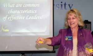 Professional Speaker, Sheryl Roush sharing business communication tips