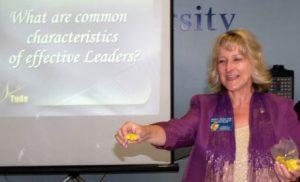 Professional Speaker, Sheryl Roush sharing business communication tips