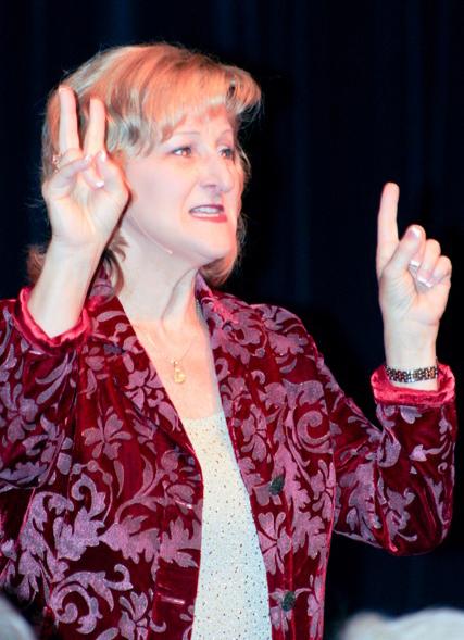 Public Speaking Coach, Sheryl Roush